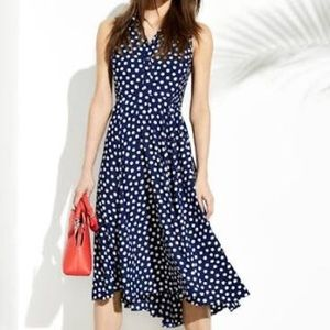 Kate Spade Cloud Dot Midi Dress in Size 0